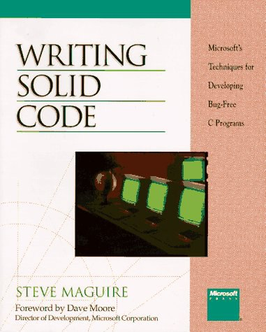 Writing Solid Code-好书天下